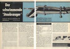 Bauplan funktionsfähige Wasserstrahlturbine für Modellboote - Original von 1965