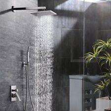 SR SUN RISE 10 Inch Bathroom Rain Mixer Shower Combo Set Shower Head System