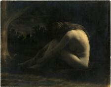 Photo Argentique Pictorialisme Nue Nude Vers 1910/20