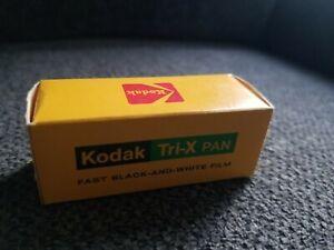 Vintage 1975 Kodak Tri-X PAN Tx120 Fast Black And White Print Filn. New & sealed