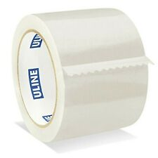Uline Packing Tape 3 X 55 Yd 26 Mil Crystal Clear Tape By S 1893 4 Pack