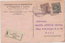 ITALIA 1923 PISA CONSORZIO FRA LE COOPERATIVE DI PRODUZIONE E LAVORO