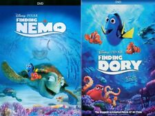 Finding Nemo + Finding Dory - 2 DVD Set - New! (Combo Box Set Collection)
