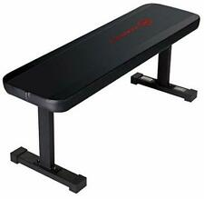 Marcy Flat Utility 600 lbs Capacity Weight Bench for Weight Training
