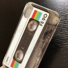 """For iPhone XR (6.1"""") - TPU Rubber Silicone Slim Fit Case Cover Cassette Tape"""