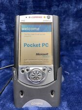 Compaq 3635 iPaq Pocket Pc with Charging Dock & Stylus - Working/Good Condition