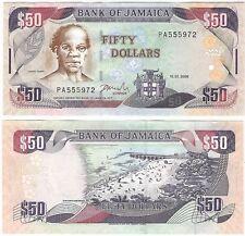 Jamaica 50 Dollars 2008 P-83c UNC Uncirculated Banknote