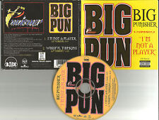 BIG PUN Punisher I'm Not a Player / Wishful thinking 2TRX LIMITED USA CD single