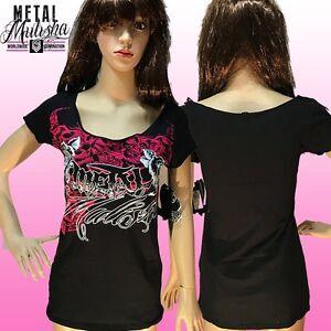 Metal Mulisha Ladies Olympus Tee Size S