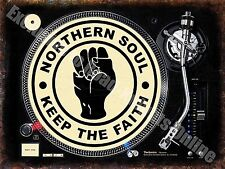 Northern Soul Keep the Faith 145 Dj Decks Music Records Gift Fridge Magnet