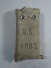 "VINTAGE! USFS / BLM, FIRE FIGHTERS, WATER BOTTLE AND COVER, LABELED ""U.S. GOVT."""