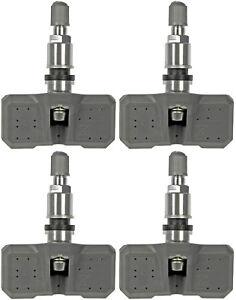 Four Tire Pressure Monitoring System (TPMS) Sensor (Dorman 974-017)