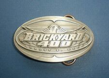 2000 BRICKYARD 400 Belt Buckle-Bobby Labonte-Siskiyou Buckle Co. Limited #50