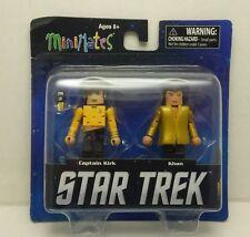 Captain Kirk & Khan Star Trek Mini Mates New Sealed Figure Pack 2013 STLTRU1