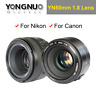 YONGNUO YN50mm F1.8 Lens Large Aperture Auto Focus Fixed Lens for Canon or Nikon