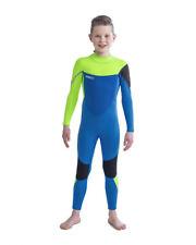 Jobe Boston Completo 3/2 MM Calce Blue Muta IN Neoprene Bambino Nuovo Surf J20