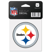 Pittsburgh Steelers Car Window Decal 4  Perfect cut Logo Color