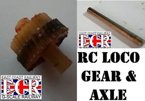 BRAND NEW GEAR & AXLE AS SHOWN FOR G SCALE 45mm Gauge RC LOCO RAILWAY TRAIN