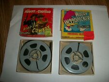 VINTAGE 2 CASTLE FILMS SUPER 8~ABBOTT & COSTELLO/WOODY.