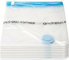 Andrew James 8 Large Vacuum Storage Bags Clothes Pack 90cm x 50cm