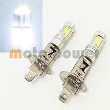 H1 CREE Q5 LED Projector Plasma Xenon 6000K White 2x Light Bulbs #Gr1 Low Beam
