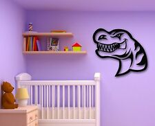 Wall Stickers Vinyl Decal Angry Dinosaur for Baby Room Children (ig790)