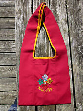 TRADITIONAL EMBROIDERED TOP QUALITY LARGE TIBETAN BUDDHIST MONK BAG DOUBLE DORJE