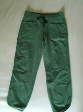 Lululemon Keep It Cool Crop French Terry Vintage Green Size 4 NWOT