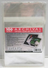 "Bopp57 (100) PrintFile Archival Print Preservers 5x7"" Crystal Clear - New F26"