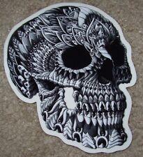 """BIOWORKZ Art Sticker 5"""" SKULL poster print like shepard fairey obey"""