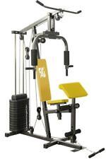 Fit4Home HG420EG Adjustable Home multi Gym 80KG Plates Preacher Pulley exercise