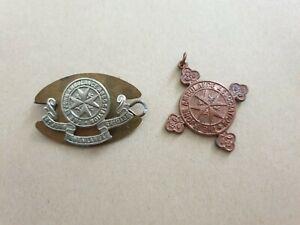 Obsolete St John ambulance badges