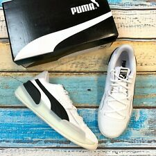 NEW Puma Men's Clyde Hardwood White Athletic Shoes MSRP $120