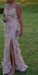 Marchesa Notte 3D Floral Dress Size 8 Aus