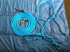 SOFT 2-KNOT HALTER, 12' LEAD ROPE W/TWIST SNAP FOR PARELLI TRAINING