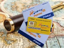 NEW! Preactivated TELCEL Mexico Prepaid SIM card 4G Internet Mexican, micro/nano