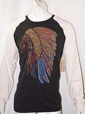 Denim & Supply Ralph Lauren Native American headdress size L baseball tee NEW