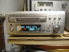 Denon Dmd-M50 Md Mini Disc Deck Player Recorder