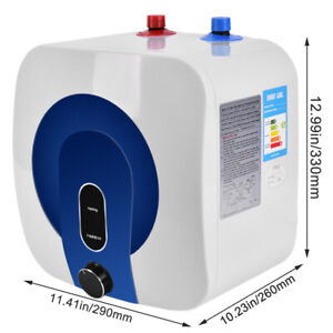35℃-75℃ Electric Hot Water Heater Tankless Tank Kitchen Bathroom Use 110V 10L