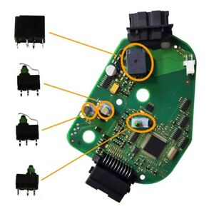 Audi A6 4F Q7 Reparatursatz / repair set kit für 4F0905852B steering lock module