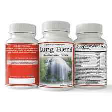 Lung Blend, Natural Lung Health Support, Respiratory Enhancer and Relaxer 90ct