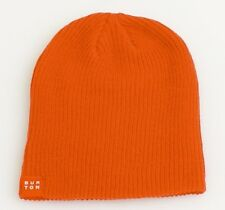 Burton Orange Knit Beanie Skull Cap Youth One Size NEW