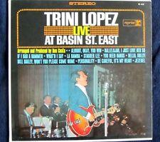 Trini Lopez, Live at Basin St East
