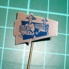 Blok specerijen spices asian stick pin badge 60s speldje distintivo anstecknadel