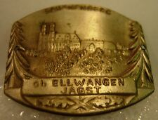 Schonenberg Schönenberg Ellwangen Jagst used stocknagel hiking medallion G5734