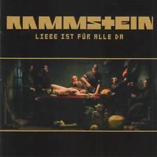 RAMMSTEIN - LIEBE IST FUR ALLE DA (2009) CD Jewel Case+FREE GIFT Till Lindemann