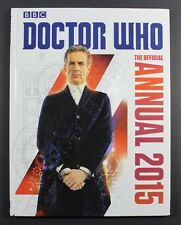 2015 BBC DR. WHO Annual - Hardcover UK exclusive book VG to EXC condition