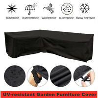 Heavy Duty Waterproof 420D Garden Patio Furniture Cover Table Umbrella Sofa BBQ