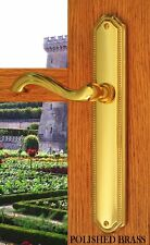 Privacy Door Lever  Handles Hardware Chateau Privacy Left Hand Distressed Nickel