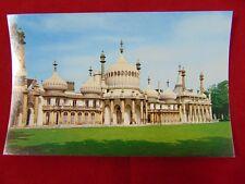 Vintage Original The Royal Pavilion In Brighton, England Uncirculated Postcard